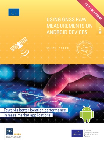 Available Now: White Paper on using GNSS Raw Measurements on Android
