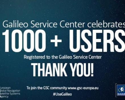 The GSC web portal provides a one-stop-shop for Galileo users