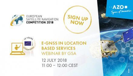 ESNC Webinar by GSA: E-GNSS in Location Based Services