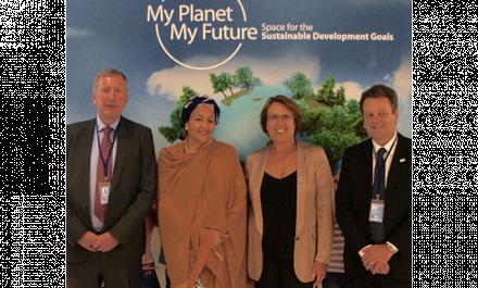 EU space programmes centre stage at UN SDG event
