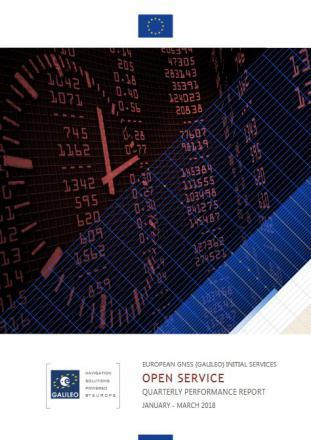 Fifth Galileo IS OS Quarterly Performance Report available