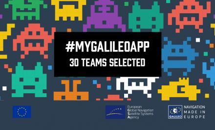 MyGalileoApp: top 30 revealed!