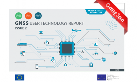 Coming soon: the 2018 GSA GNSS User Technology Report