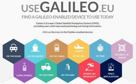Enhanced UseGalileo site offers a more tailored experience