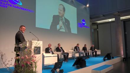 GSA Head of Market Development Gian Gherardo Calini spoke about Galileo's contribution to autonomous driving