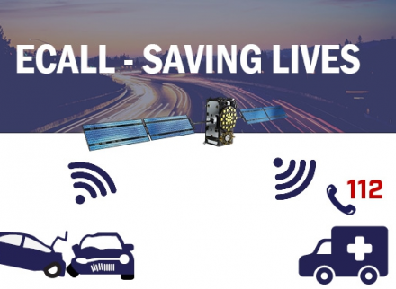 eCall leverages EGNSS to get emergency responders to accident sites faster