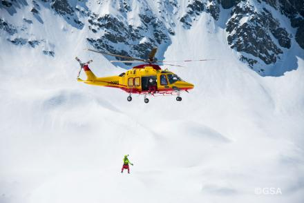 Helicopter Rescue in the Italian Alps
