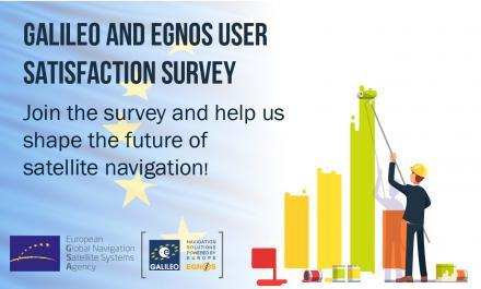Help shape the future of Galileo and EGNOS. Give us your feedback!