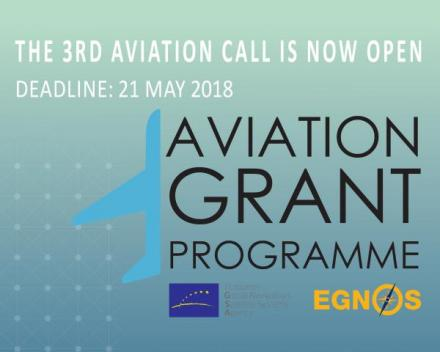 3rd Call for EGNOS adoption in aviation is now open