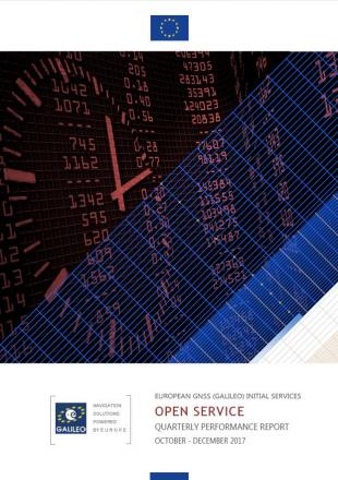 Fourth Galileo IS OS Quarterly Performance Report available