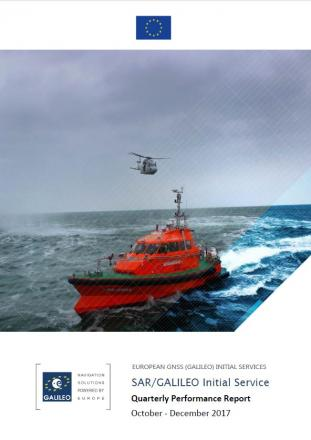 Fourth SAR/Galileo IS Quarterly Performance Report available