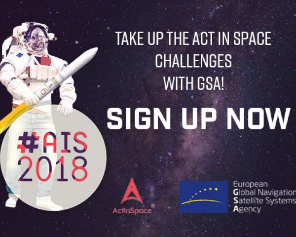 GSA has set three challenges for participants in this year's ActInSpace hackathon
